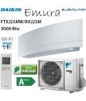 Daikin Emura 9000 BTU inverter FTXJ25MW + RXJ25M